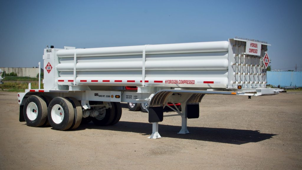Hydrogen Tube Trailer For Lease - P-Leasing, Inc.