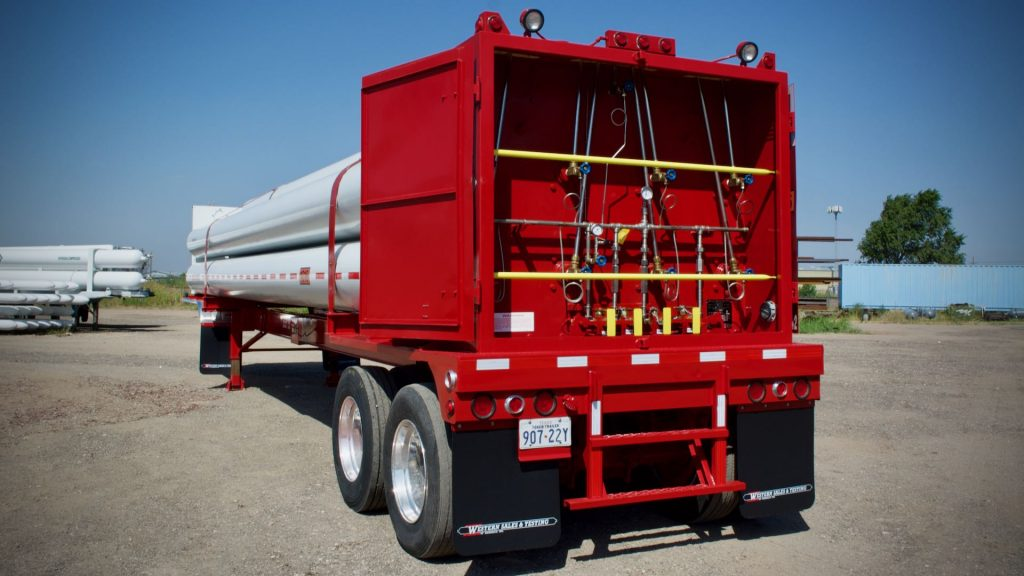 Carbon Monoxide Tube Trailer For Lease - P-Leasing, Inc.