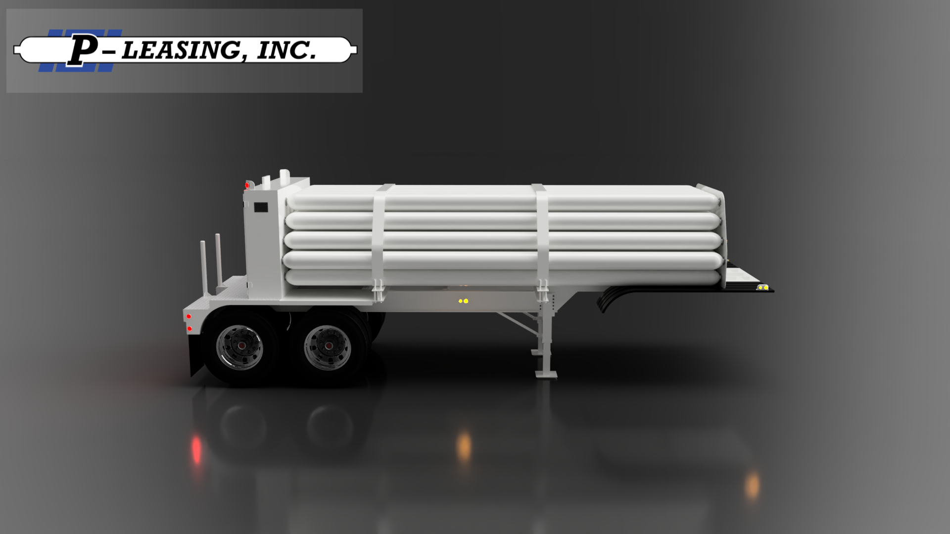 P-Leasing Conventional Compressed Gas Tube Trailer